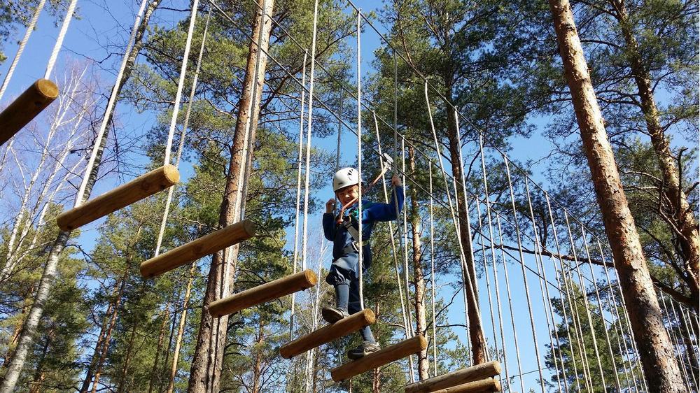 Веревочный парк Tartu Seikluspark