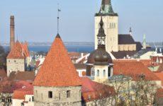 Крыши достопримечательностей Старого города