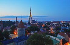 Вышгород в вечернее время, Таллин
