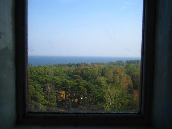 Вид из окна найссаарского маяка