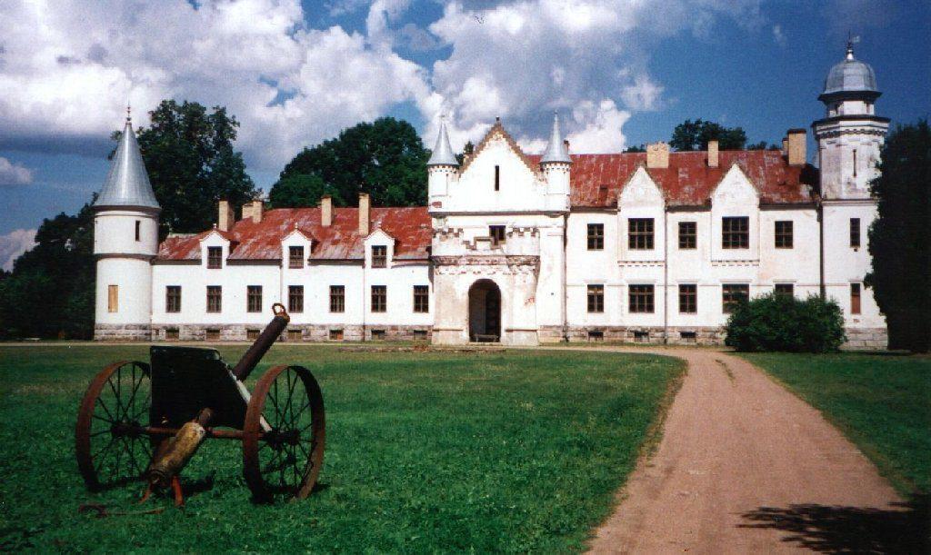 Замок Алатскиви, Эстония, 1999 год