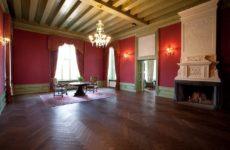 Экспозиция замка-музея Алатскиви в Эстонии