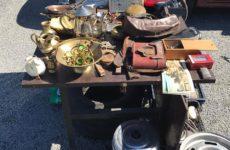 Блошиный рынок возле Балтийского рынка