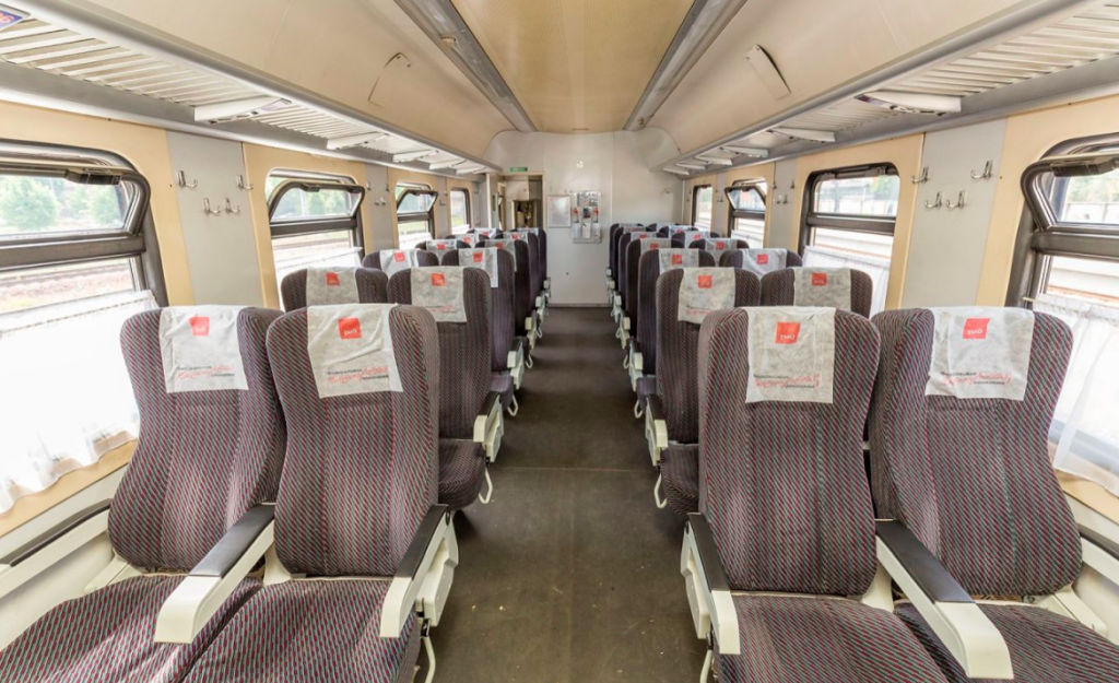 Поезд Москва-Таллин: Балтийский экспресс