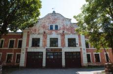 Старая заброшенная пожарная часть на Кренгольме