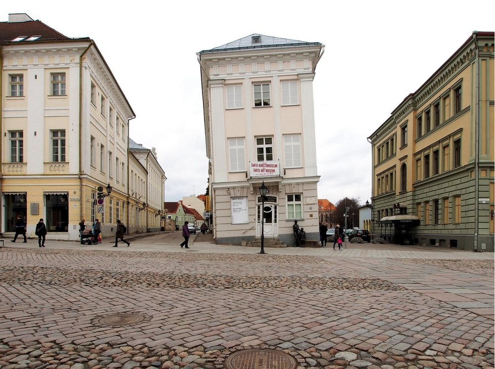 Тартуский кривой дом или дом Барклай