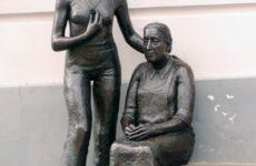Скульптура Мать и Дочь, Тарту