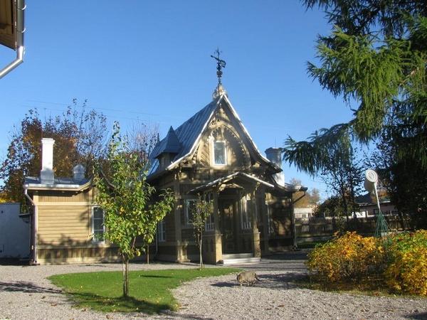 Музей-ателье Амандуса Адамсона в Палдиски