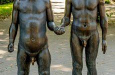 Скульптура Отец и Сын, Тарту