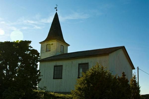 Часовня Святого Лаврентия на острове Прангли