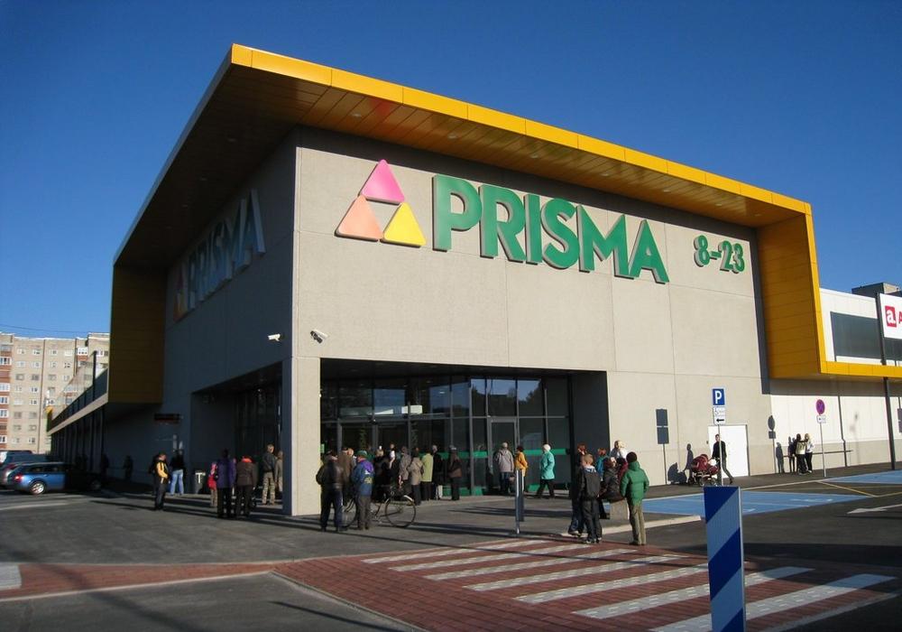 Торговый центр Prisma, Нарва