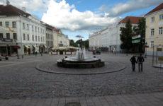 Тартуская Ратушная площадь