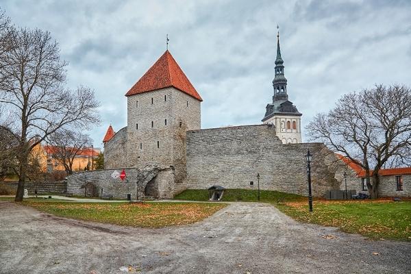 Городская стена, Старый город Таллина