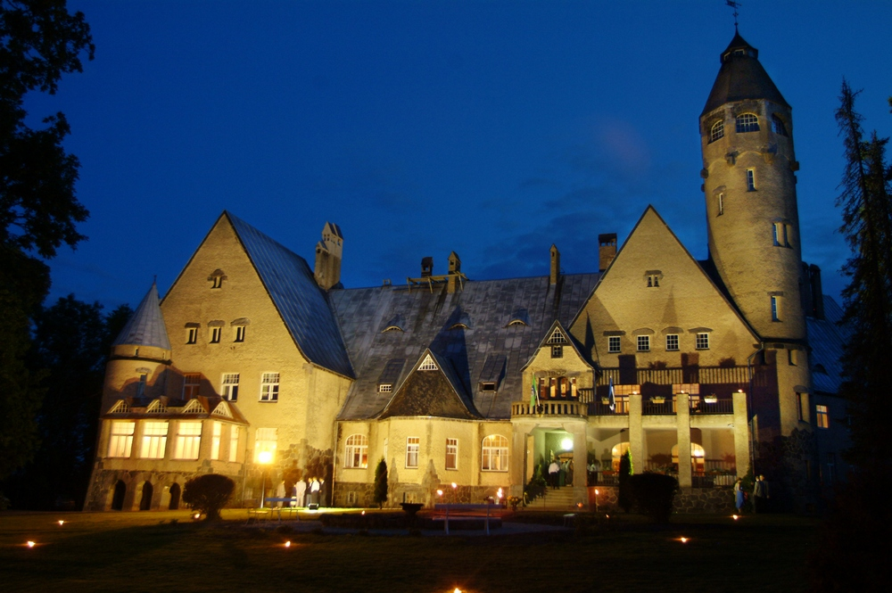 Замок Таагепера сегодня, Эстония