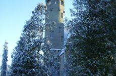 Замок Таагепера зимой