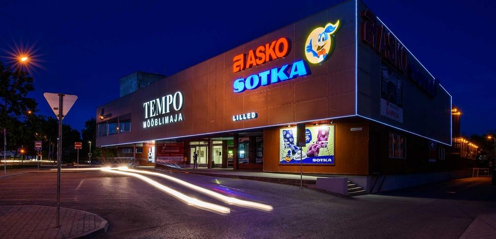 Торговый центр Tempo, Нарва