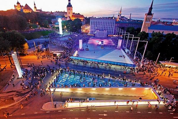 Площадь Свободы, Центр Таллина