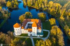 Замок Лоде в Эстонии сегодня