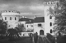 Замок Лоде в Колувере, Эстония, 1900 год