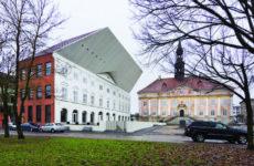 Здание колледжа Тартуского университета