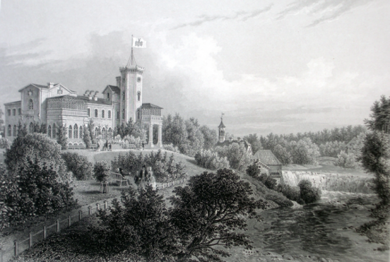 Замок Фалль, 19 век