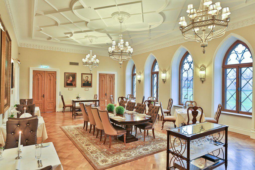 Внутренние помещения замка Фалль в Кейла-Йоа, Эстония