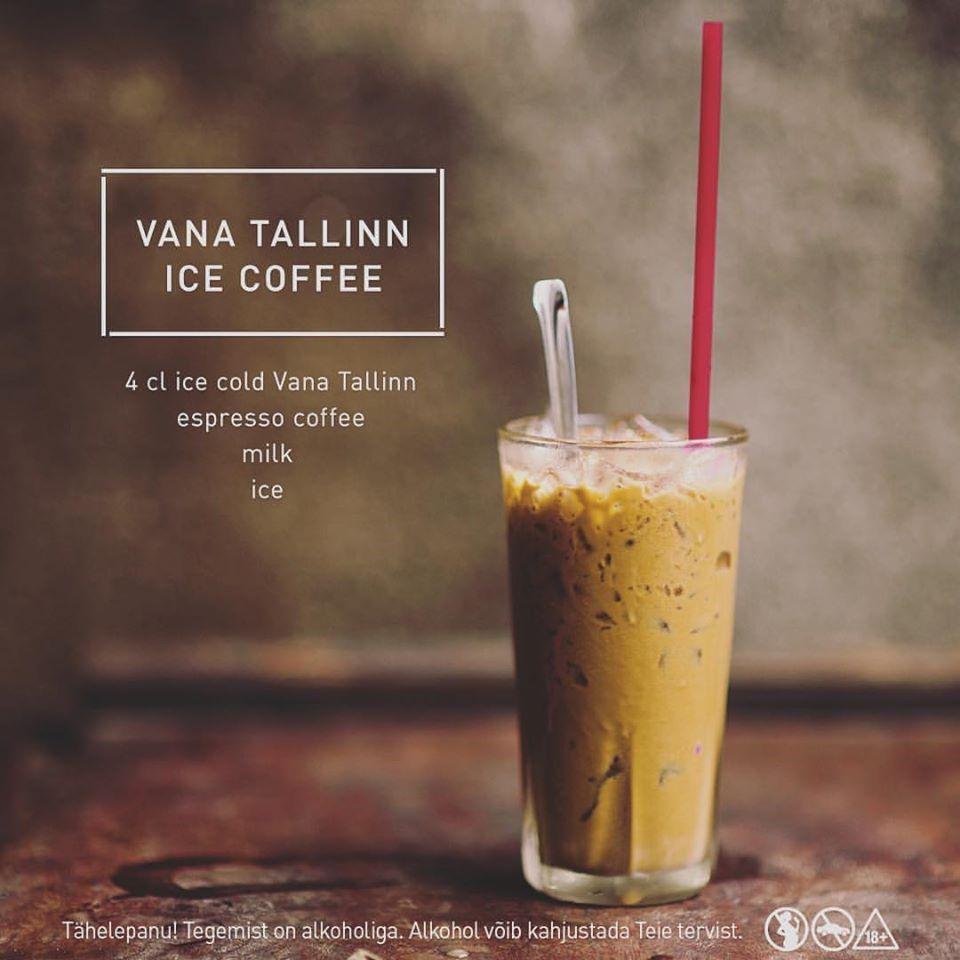 Vana Tallinn ice coffee